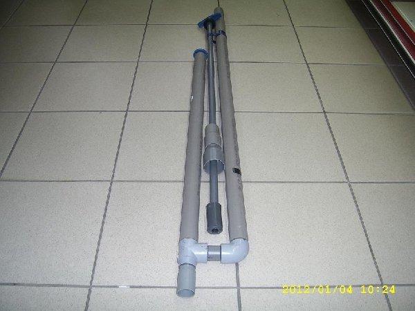 Műanyag pumpa PVC 40-es acélgolyós